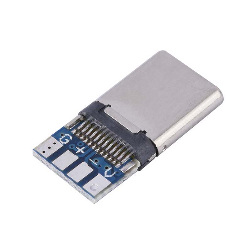 20pcs 10pcs USB 3.1 Connector Type C 12PIN Fast Charging Male Socket Receptacle Adapter To Solder Wire & Cable PCB Board Module
