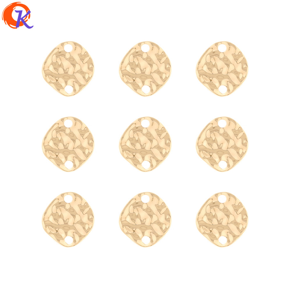 Cordial Design 100Pcs 11*11MM Jewelry Accessories/Earrings Making/Hand Made/Coin Shape/Earring Findings/DIY Jewelry Connectors