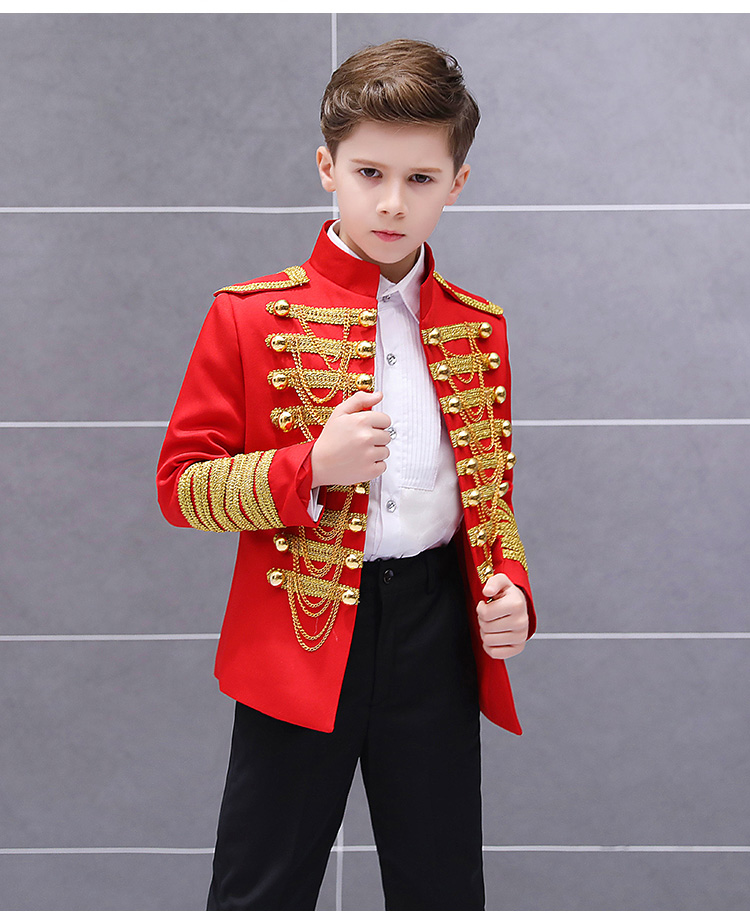Meninos estilo Europeu e Americano palácio príncipe