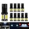 10Pcs W5W T10 LED Bulbs Car Lights 12V For Opel Astra H J G Corsa D C Insignia Vectra B Zafira Mokka Meriva Vivaro Antara Omega