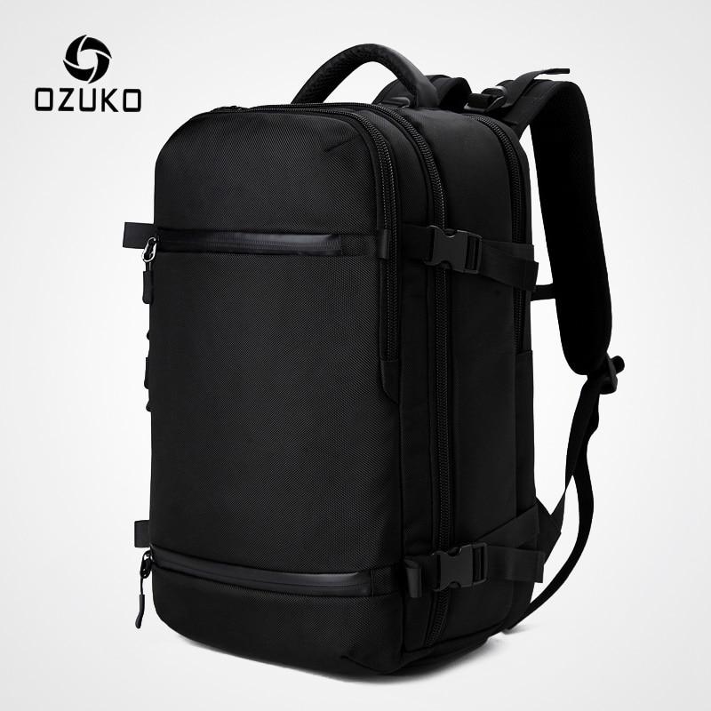 OZUKO New Men Backpack For 15