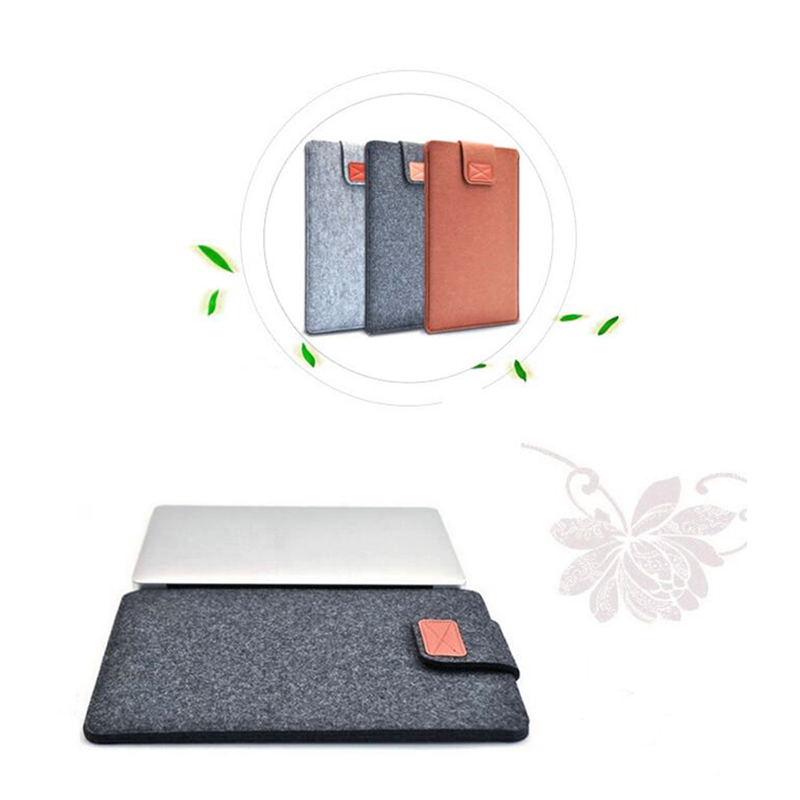 Premium Soft Sleeve Bag Case Felt Ultrabook Laptop Tablet Bag For Tablet Case Cover Notebook Cover Pack For Apple MAC & Laptops