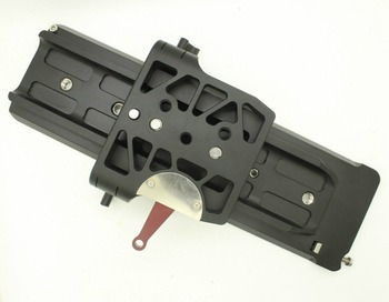 New HONTOO Quick Release Sliding Baseplate 19mm Rod Rail Support System