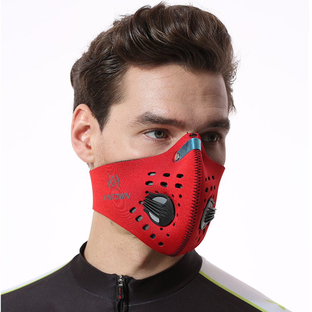 Soft Anti Dust Face Mask With Filter Activated Carbon Dust-proof Mask Anti Industrial Construction Dust Haze Fog Safety Gas Mask