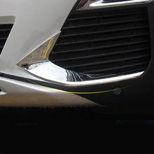 Vdéchirure – cadre de phare antibrouillard avant et arrière pour Peugeot 3008 3008GT, couvercle ABS chromé, accessoires extérieurs, 2021 – 2017