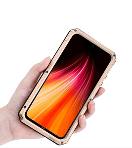Image 4 - Case For Xiaomi Redmi Note 7 8 9 9T 9S 10 Lite CC9 Pro K20 K30 Max3 Mix2 F1 Shockproof Heavy Duty Tank Aluminum Metal Cover