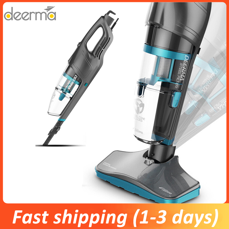 Deerma 2 In 1 Handheld Vacuum Cleaner 600W 14000Pa Powerful Suction With Steel Filter Dust Collector Aspiratior Machine DX920