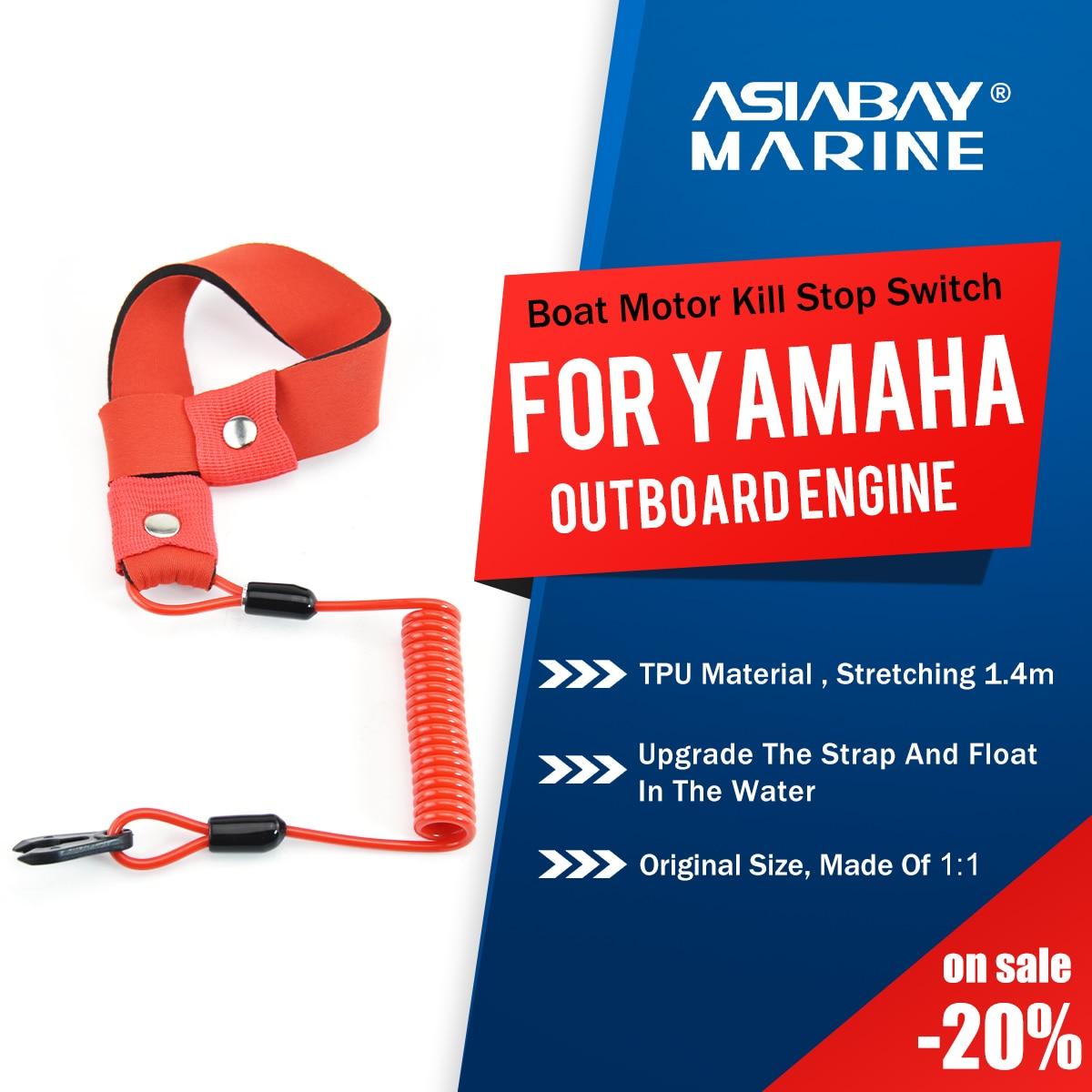 Yamaha, морской подвесной двигатель, лодочный двигатель, стоп-переключатель для 2-425hp, ремешок для ключей, страховочный трос