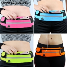 Waterproof Hidden Purse Fitness Sports Travel Wallets Running Jogging Cycling Belt Waist Bag Portable Fashion Phone Holder Bags