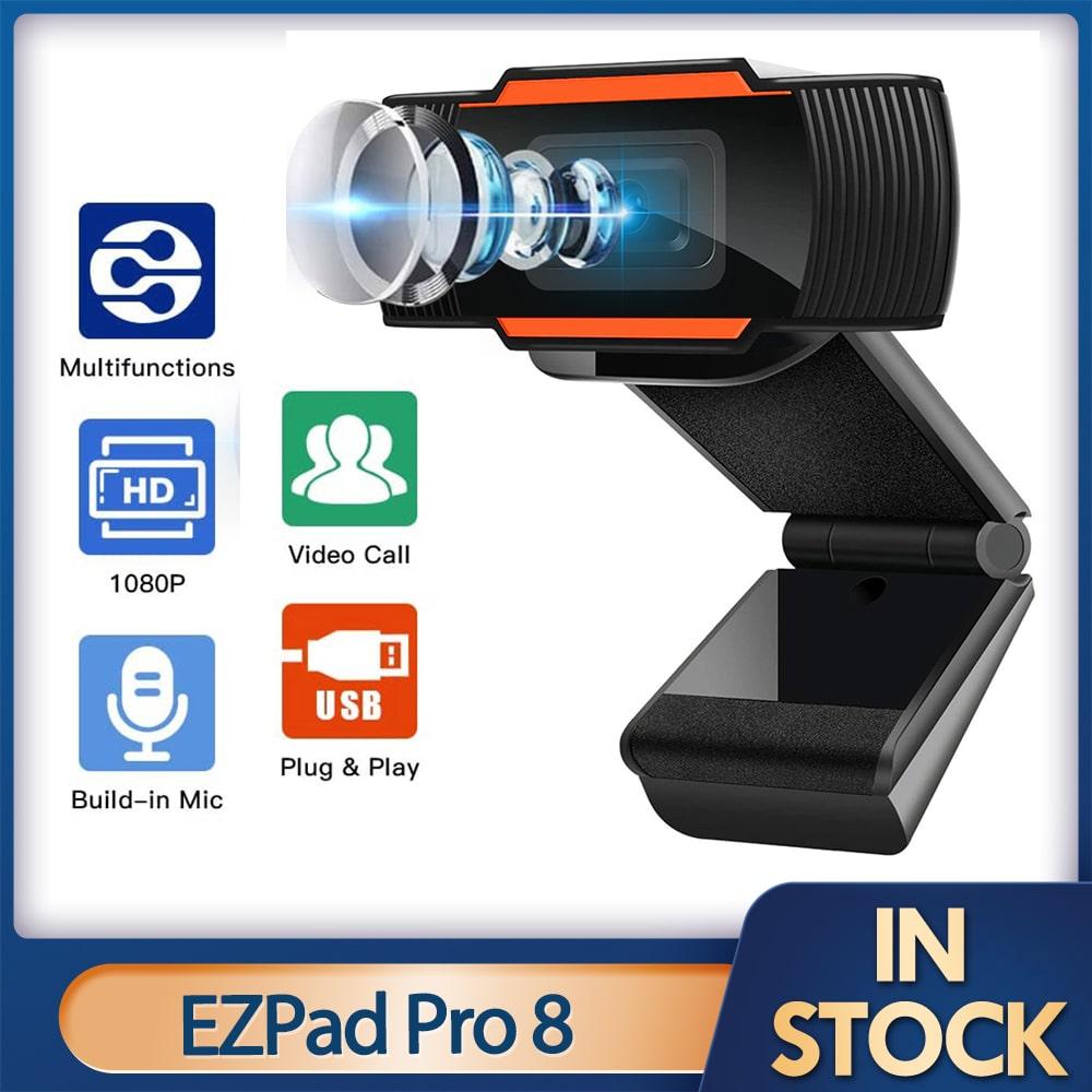 2020 Rotatable 1080P 720P Full HD Webcam Mini USB 2.0 Web Camera Video Recording For PC Computer Laptop Desktop YouTube Skype