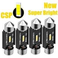 Nuovo festone CSP lampadine a LED 31mm 36mm 39mm 41mm C5W C10W Super Bright Car Dome Light Canbus nessun errore lampade da lettura interne automatiche