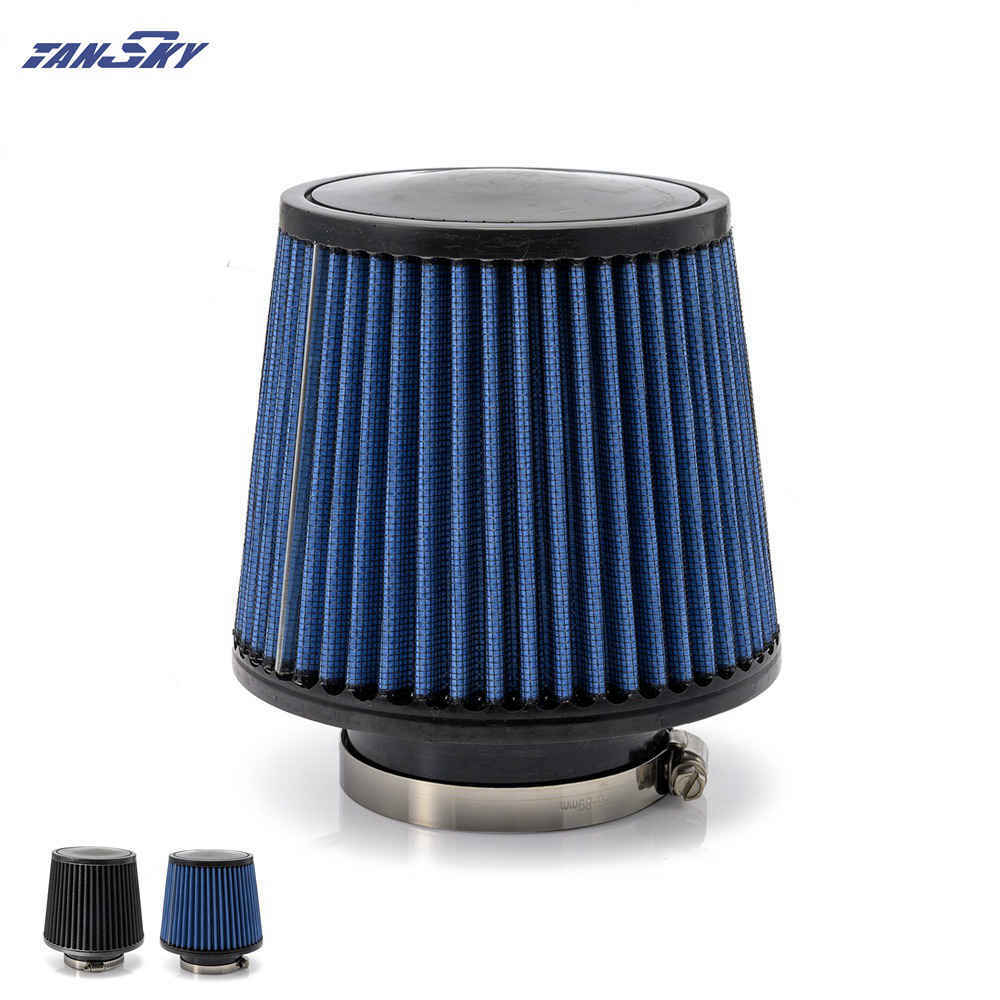 "BLUE 1994 UNIVERSAL 76mm 3/"" INCHES MUSHROOM SHAPE AIR INTAKE FILTER"