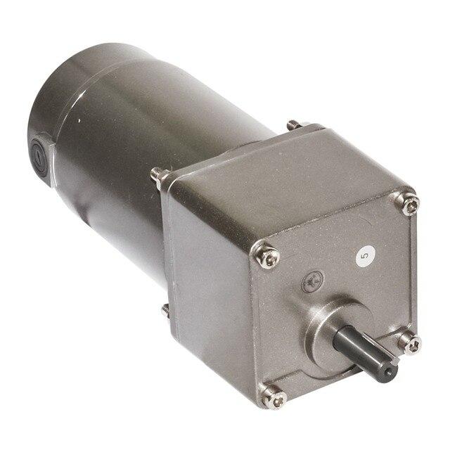 Moteur de boîte de vitesses cc 12V 24V 90V 120W avec tête de vitesse 5GU 6 ~ 600 tr/min vitesse couple élevé en option CW CCW contrôle de vitesse réglable