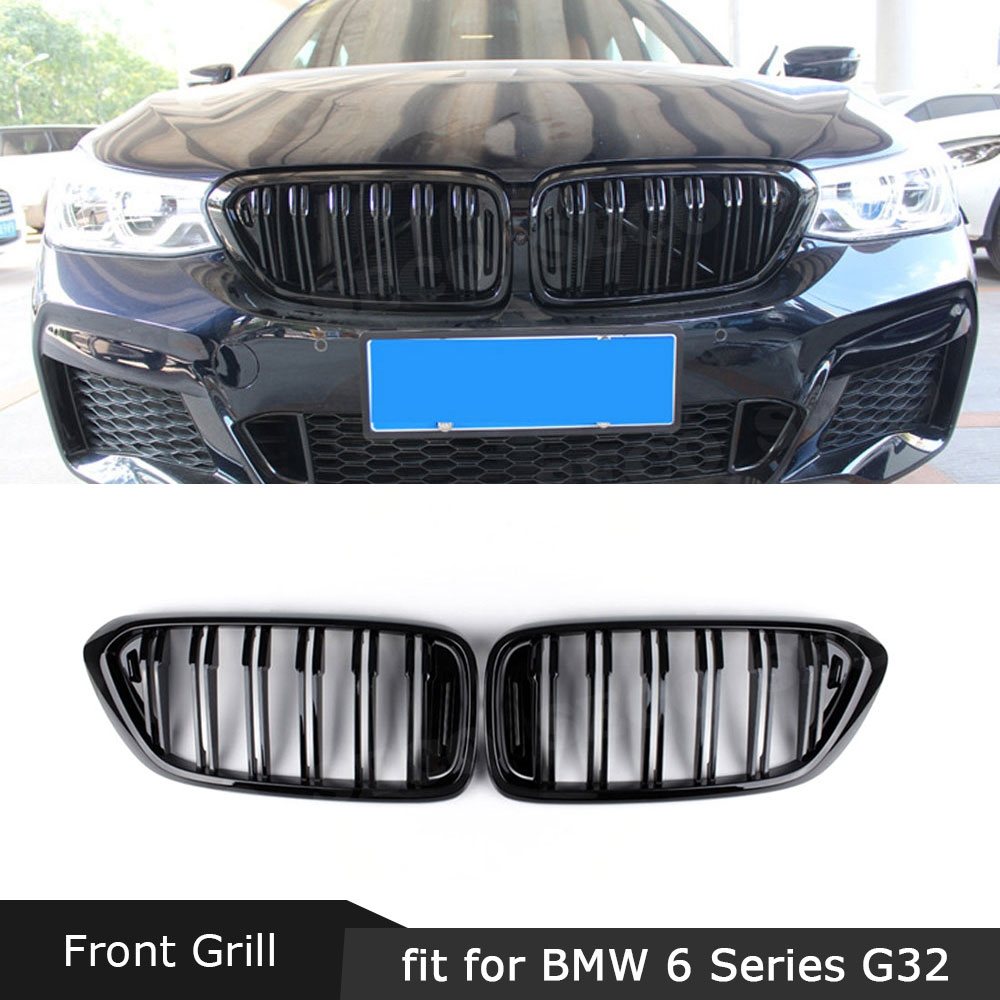 2005-2009 5-Pieces Chrome Front Grill Cover Fits 307