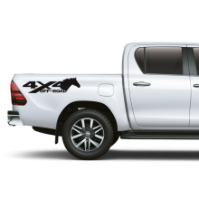 цена на left and right 4x4 horse off road sticker decal vinyl off road 4x4 for suv sticker pickup decal 4x4 car sticker