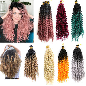 Синтетические накладные волосы Hywamply для женщин, 16 дюймов, 100 г