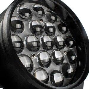 Image 3 - DJworld LED Beam + Wash 19x15W RGBW Zoom oświetlenie reflektor z ruchomą głowicą światło sceniczne dla światła Disco dla DJ domowa rozrywka Party Bar