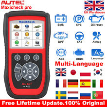 Autel Maxicheck Pro OBD2 Servizio Diagnostico Auto Strumento Scanner ABS Airbag EPB DPF Reset Olio Auto