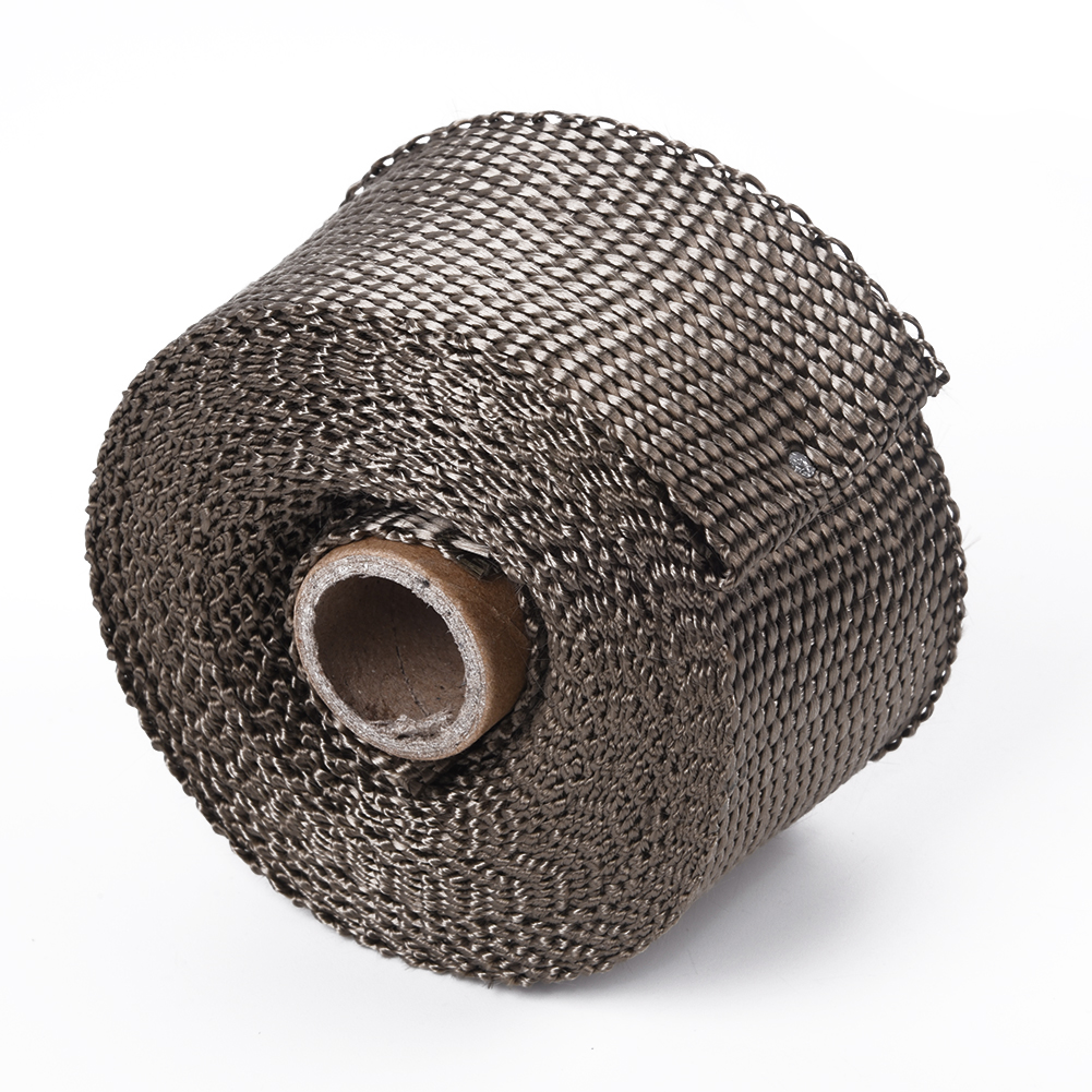 <font><b>T3</b></font> <font><b>Turbo</b></font> Heat Shield <font><b>Blanket</b></font> Cover W/ 5cmX5m Titanium Manifold Downpipe Wrap 4 <font><b>t3</b></font> <font><b>Turbo</b></font> Heat Barrier <font><b>Blanket</b></font> image
