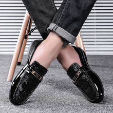 Men Shoes Loafers Casual Slip-on Male Driving Moccasins Brea