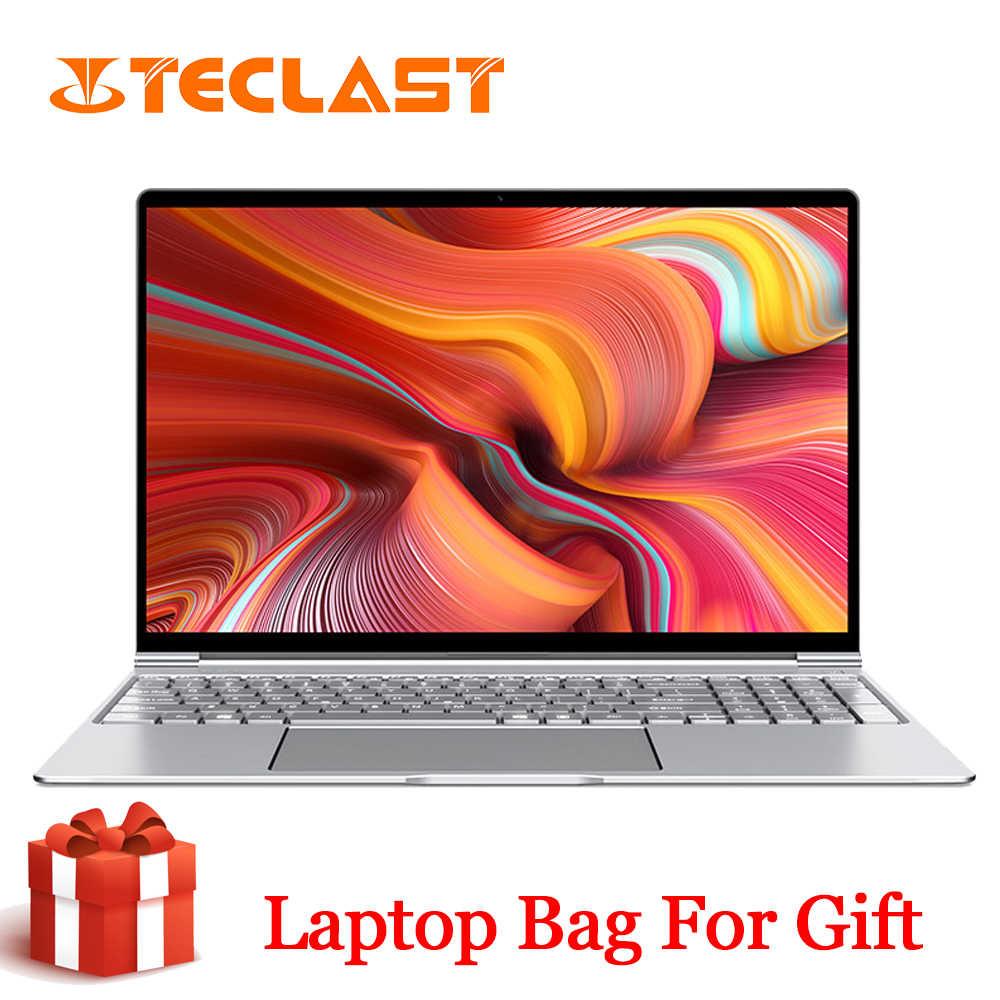 Mới Nhất Teclast F15 Laptop Windows 10 OS 15.6 Inch 1920X1080 DDR4 Ram 8GB SSD 256GB Intel n4100 Quad Core Hdmi Laptop