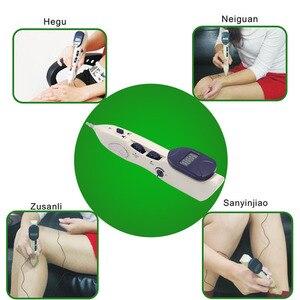 Image 3 - ボディマッサージペン3 1で鍼ペン子午線エネルギーペン疼痛緩和ポイント検出器デバイス健康レーザー治療マッサージ銃
