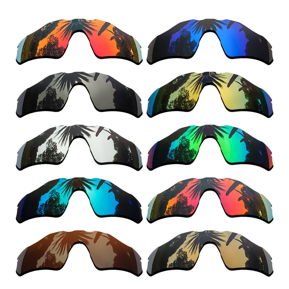 Polarized Mirrored Coating Replacement Lenses For-Oakley Radar EV Path Frame Multi-Colors