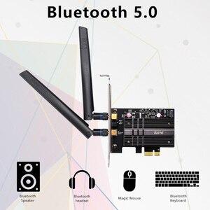 Image 3 - 듀얼 밴드 무선 와이파이 어댑터 AX200NGW 2.4G/5Ghz 802.11ac/ax 블루투스 5.0, 와이파이 카드 3000Mbps 와이파이 6 인텔 AX200 PCIe PC용