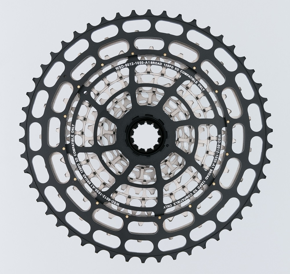 New ASROAD 12 Speed MTB Bicycle Cassette 10-50T STEEL CNC Made SRAM XD Driver Body 12s Bike Freeewheel Super Light CNC Made 392g image
