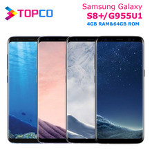 Samsung Galaxy S8 + S8 Plus G955U G955U1 Original Entsperrt 4G LTE NFC Android Telefon Snapdragon Octa Core 6.2