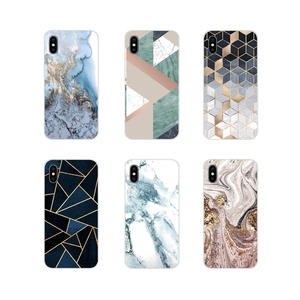 Accessories Phone Cases Cover For Apple iPhone X XR XS 11Pro MAX 4S 5S 5C SE 6S 7 8 Plus ipod touch 5 6 gold marble Line sparkle(China)