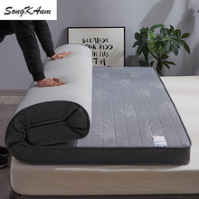 Mattresses Tatami Memory-Foam Foldable Natural-Latex Warm Keep Thicken Student Songkaum