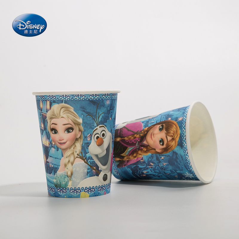 Birthday Elsa anna Princess Party Supplies Paper Plate Napkin Party set for 12 kids Happy Birthday Party Decoration Party Favors  - buy with discount