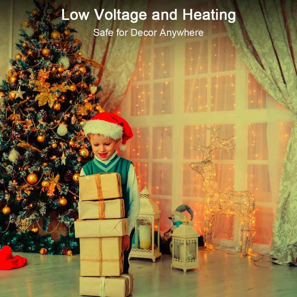 2019 рождественские украшения гирлянды Рождественские украшения Рождественские поделки светильник новый год 2020 Рождественский подарок для домашней елки