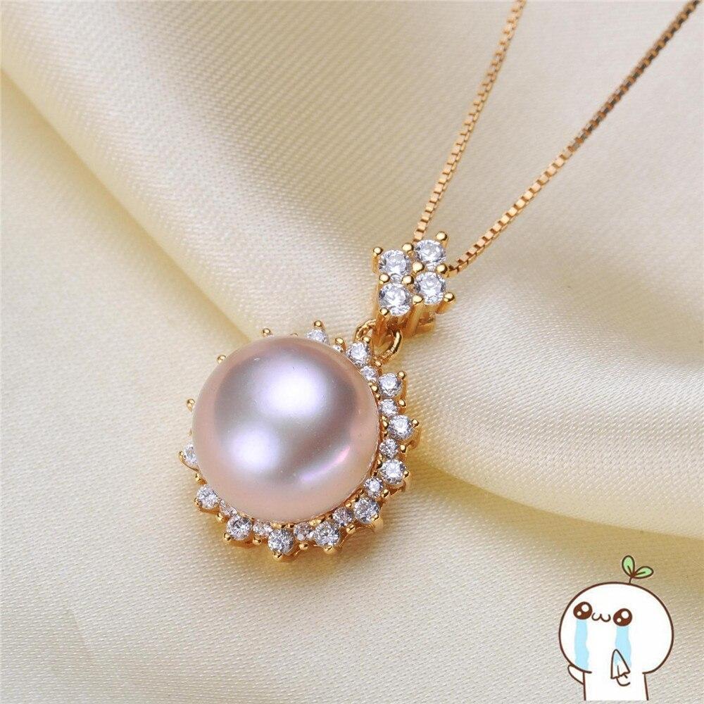 Akoya Oysters Pearls DIY Pearl Pendant Making Gifts Pearl Locket Pendant Jewellery Findings Base Accessories 2019P114