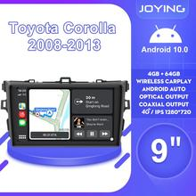 """9""""Android10 Auto Car Radio Stereo GPS Navigation Multimedia Player For Toyota Corolla E140/150 2008 2009 2010 2011 2012 2013"""