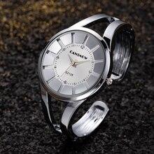 Bracelet Watch Gold Ladies Luxury Clock Dress Dial Quartz Top-Brand Mujer Reloj