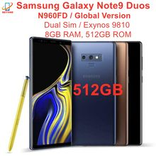 Samsung Galaxy Note9 Note 9 Duos N960FD double Sim 512GB ROM 8GB RAM LTE Octa Core 6.4