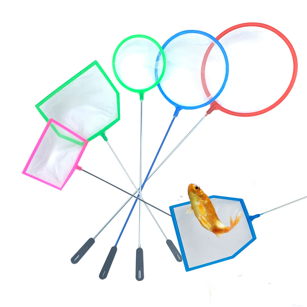 2/3Set Fish Net Shrimp Aquarium Fish Tank Accessoires High Density Small Fish Fine Net Artemia Filter Dense Mesh Small Pore Tool