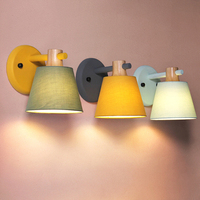 Скандинавский современный настенный светильник  минималистичный теплый Спальня Кабинет прикроватный настенный светильник для комнаты  Де...
