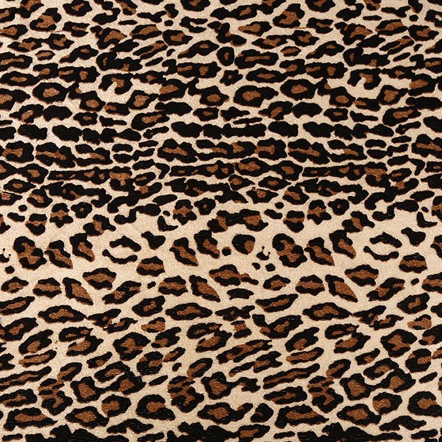 7pcs Leopard Tiger Stripe Cow Spots Patterned Polyester Cotton Fabric Craft Fabric Bundles for Patchwork Sewing DIY Projects