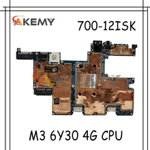Akemy For  Lenovo MIIX 700-12ISK MIIX700 MIIX-700-12ISK CMX40 NM-A641 Tablet Motherboard CPU M3 6Y30 4G 100% Test OK