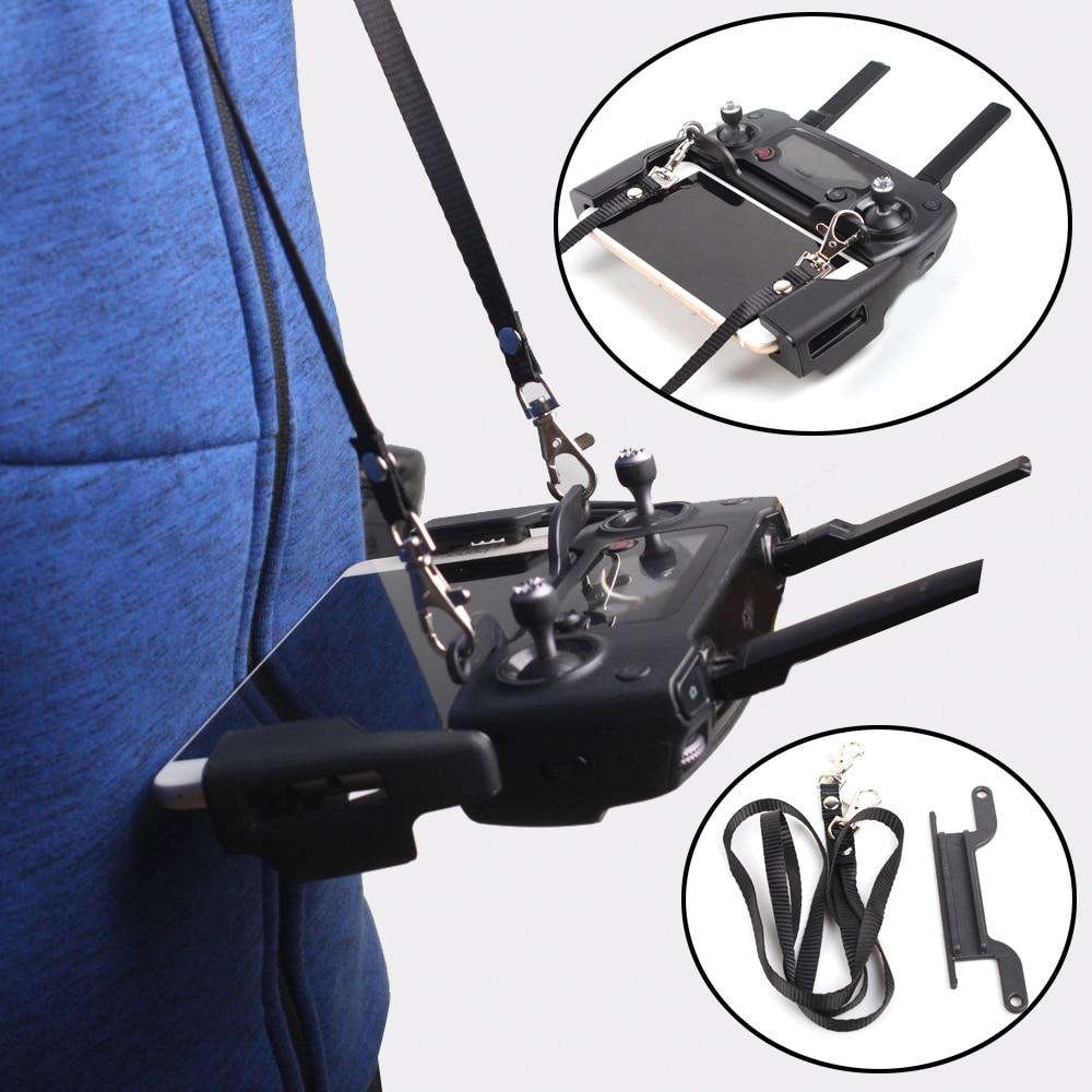 For Mavic MINI 2 Pro Zoom Dual Hook Neck Strap Transmitter Belt Bracket Mount Hang Lanyard For DJI MAVIC AIR PRO SPARK Controlle