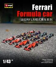 Bburago 1/43 1:43 Bilancia 2018 2019 F1 Formula 1 Auto Da Corsa Diecast Modello di Visualizzazione di Giocattoli Per Bambini