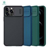NILLKIN-funda deslizante para iPhone 13 Pro max, carcasa protectora antideslizante para cámara, para iPhone 13 mini 13 Pro PC