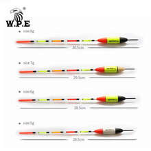 Buy W.P.E Brand 3pcs/lot New Fishing Float Barguzinsky Fir Float Size 5g/6g/7g/8g Carp Fishing 28.5cm-30.5cm Fishing Tackle Vertical directly from merchant!