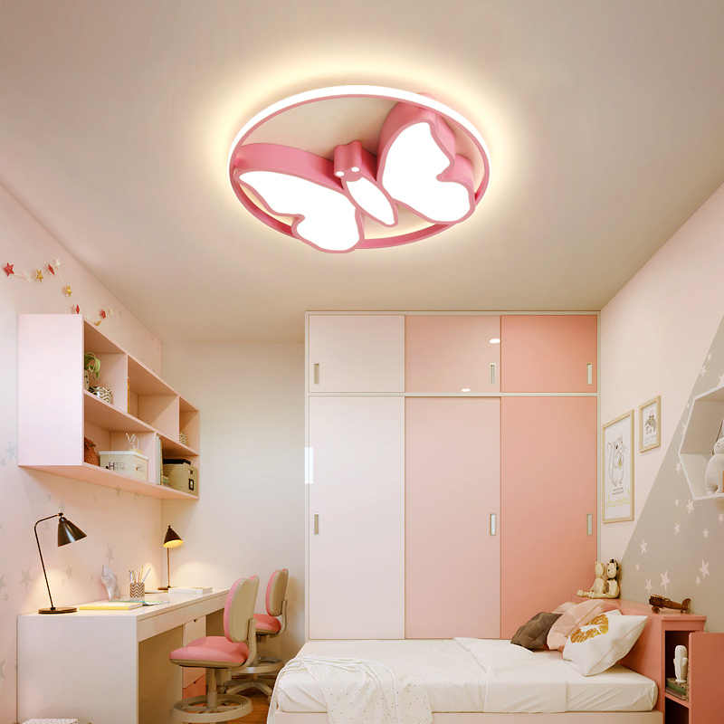 Modern Led Chandeliers Light Baby Room