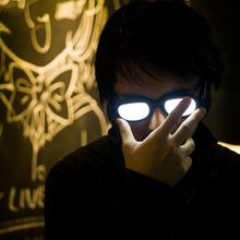 Funny Toys Led-Glasses Glowing-Toy Light-R3q6 Novelty Cosplay Anime Conan-Case Detective
