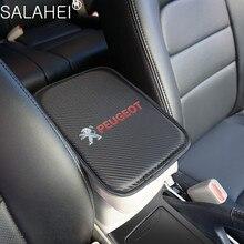 مسند ذراع للسيارات وسادة يغطي السيارات مقعد مساند للذراعين منصات صندوق تخزين حماية وسادة Peugeot 206 207 307 3008 2008 308 408 508 301