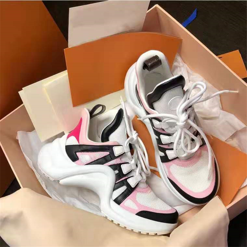 Fashion Shoes Trainers Mesh Women Sneakers Ultra Brand Lace-Up Arched Street-Styles Hot-Selling